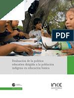 Evaluación educación indÃ_gena