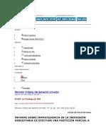 respecto a la adjudicacion parcial en Chile