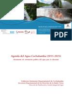 4 Agenda del agua Cochabamba