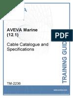 TM-2236 AVEVA Marine (12.1) Cable Cat