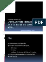 L'évolutivité horizontale et les bases de données NoSQL