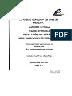 Clasificación de Los Motores de Inducción