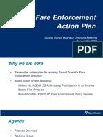 Fare Enforcement and Income-Base Fare Presentation -  March 26, 2020