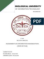 InformationMaximisation-2K16-IT-93,94