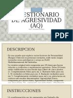 CUESTIONARIO DE AGRESIVIDAD (AQ)