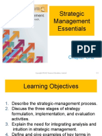 Chapter 1 - Strategic Management Essential