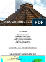 Desaparición de Los Mayas