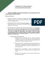 Antismoking Policies and Procedures