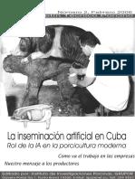 Inseminación Artificial en Cuba