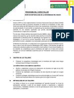 PROGRAMA_TALLERES_JIM GUIMAC-AMAZONAS