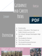 guidance and career paths
