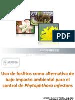 Uso de fosfitos como alternativa de bajo impacto ambiental para el control del Phytophthora infestans (PowerPoint)
