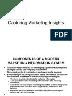 Capturing Marketing Insights
