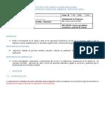 Guía nro. 01 Generalidades básicas de la cinemática