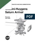 Cassini-Huygens Saturn Arrival Presskit