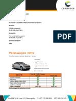 Cotización Sixt Rent A Car - Sr Camilo Giraldo -ORLFLL