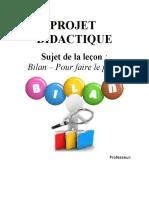 proiect didactic clasa a VI-a limba franceza