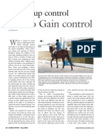 Giving Up Control to Gain Control