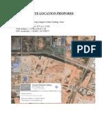 Plant Design site location.docx