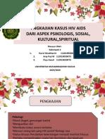 PENGKAJIAN PSIKO-SOSIO-KULTUR-SPIRITUAL