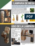 LAMPARA DE MESA - CON IDEA RECTORA DE GERMINADO