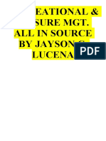 RECREATIONAL & LEISURE MGT. ALL IN SOURCE BY JAYSON LUCENA-merged