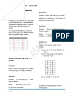 Introduction to Relations and functions2