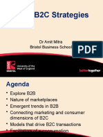 B2B & B2C strategies in Virtual Business