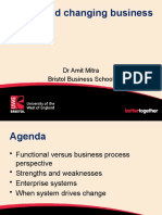Building and changing business processes