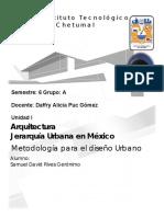 Jerarquia Urbana en México