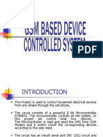Gsm Based Device Control System