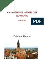 Patrimoniul Imobil Din Romania