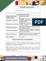 IE_Evidencia_Informe_determinar_indicadores_de_gestion_utilizados_en_empresa