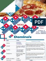 Dominos Presentation