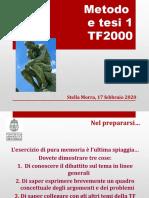 TF2000 metodo e tesi 1 2020.pptx