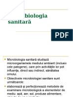 Microbiologia sanitara