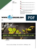 Koume 2019_ Le Rendez-Vous de Dieu Avec La CMCI (T. Andoseh)