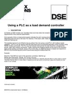 056-045 PLC as Load Demand Controller