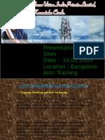 Presentation of RTT sites