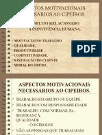 ASPECTOS MOTIVACIONAIS