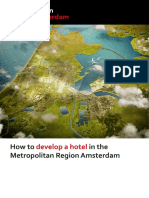 How to develop a hotel in the Metropolitan Region Amsterdam