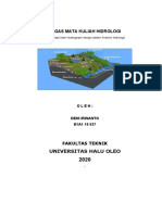 Tugas Mata Kuliah Hidrologi