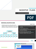 INDIVIDUAL INCENTIVE PLANS