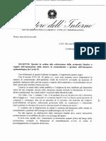 Esequie Indicazioni Ministero Interno 30 Aprile 2020