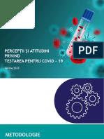 IRES_Perceptii si atitudini privind testarea pentru Covid-19_Sondaj de opinie _Aprilie 2020