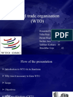 New_World Trade Organisation (WTO)