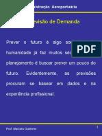 Modelos de Previsão de Demanda