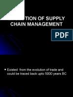 Evolution of Supply Chain Management