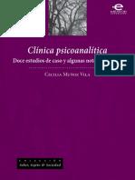 Clínica psicoanalítica - sampler