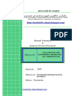 M03 -Utilisation des différ matériaux construction-BTP-TDB